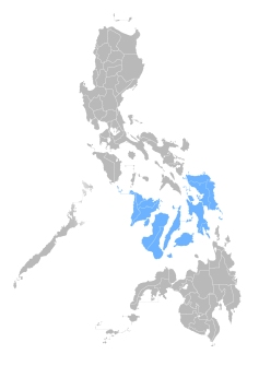 Visayas islands, Philippines