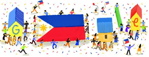 Google Doodle celebrates Philippine Independence