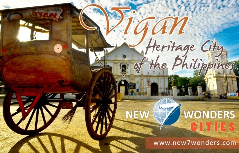 Vote Vigan for New 7 Wonders Cities